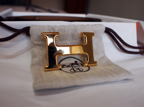 Hermes Gold Buckle