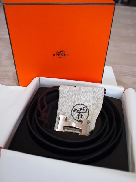 Hermes Silver Buckle 1