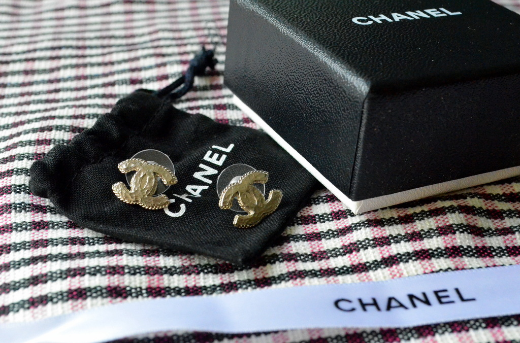 FOR SALE: CHANEL EARRINGS