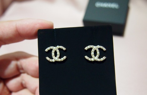 Chanel  Earstuds in Gold - A63870Y09449Z2048