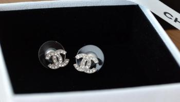 8246a0a4 SOLD] FOR SALE: BNIB DOUBLE C CLASSIC CHANEL EARRINGS | Branded ...