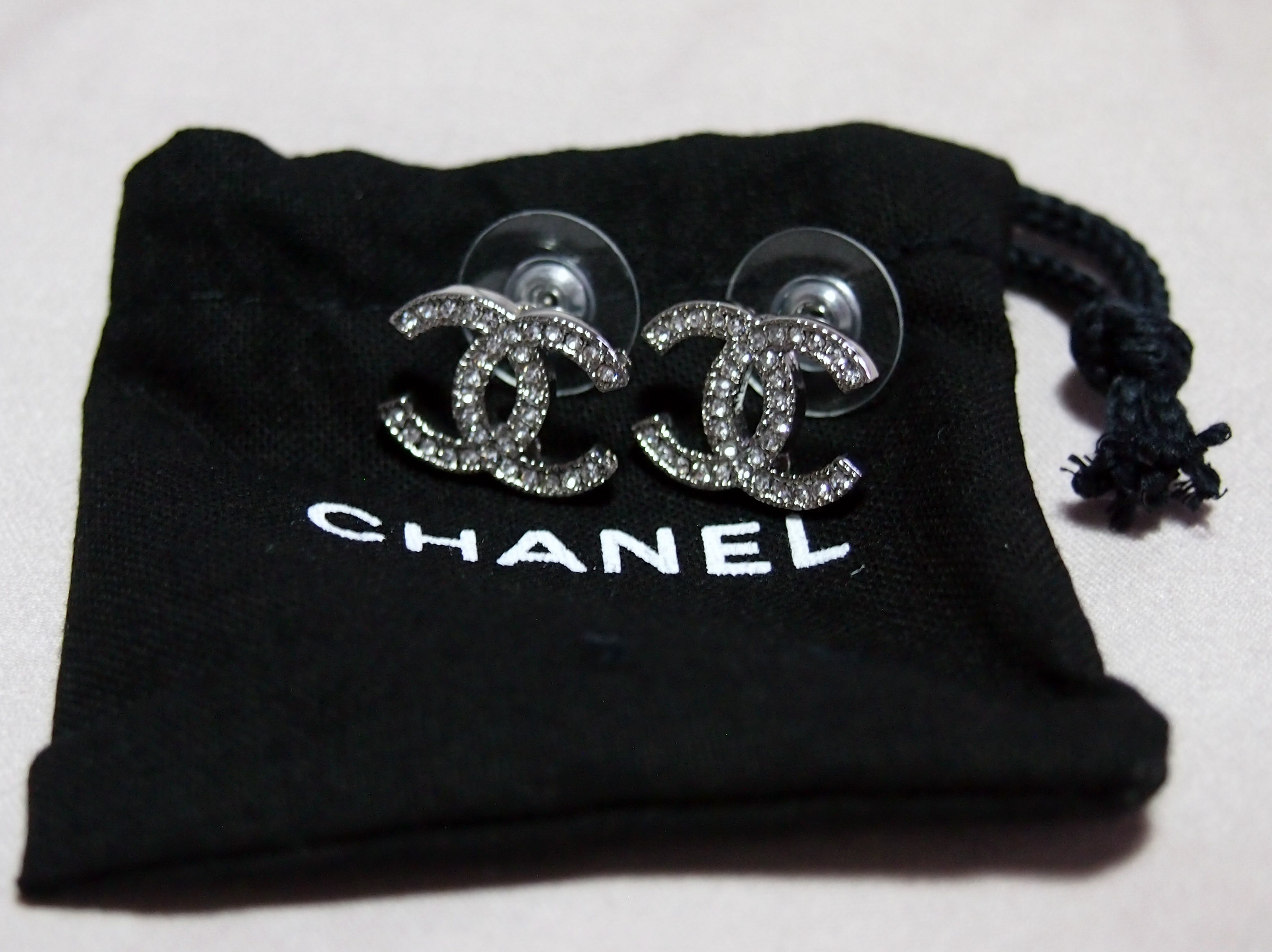 Sold For Double C Classic Chanel Earrings Branded Singapore