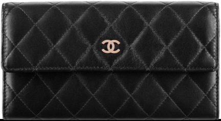 Chanel Black Wallet A50096 Y25018 C7503