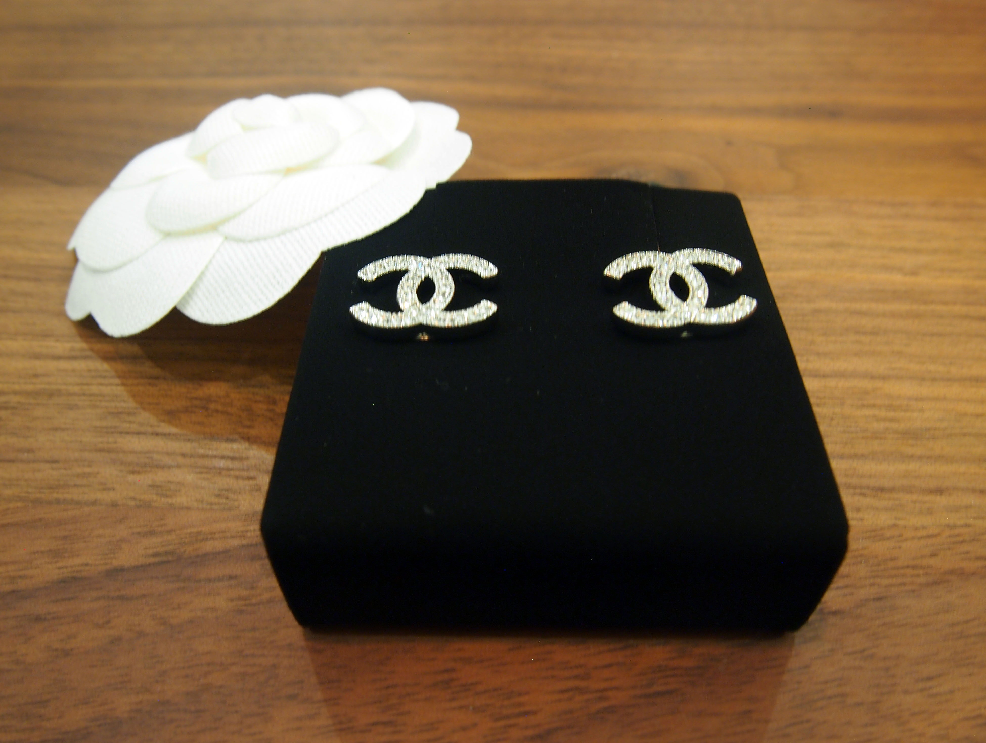 Sold For Double C Classic Chanel Earrings Silver