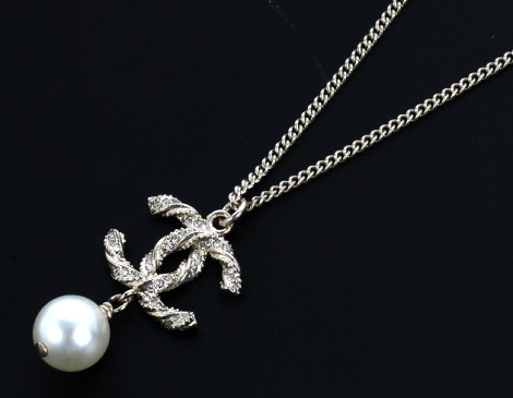 A63047 Chanel necklace for sale