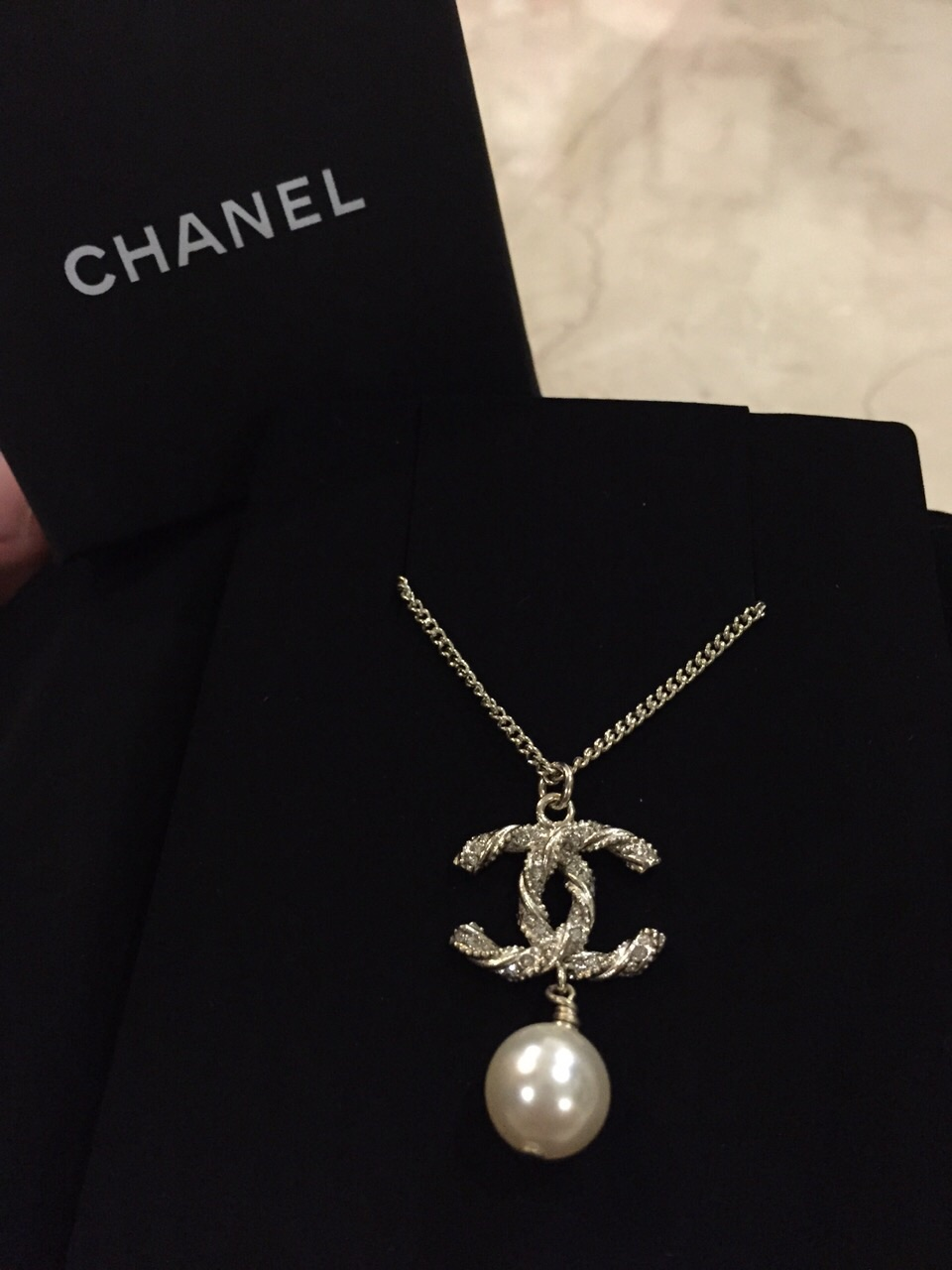 Chanel Classic Long Necklace Classic Chanel Necklace With