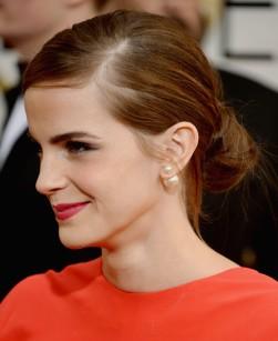 Emma Watson spotting Mise en Dior