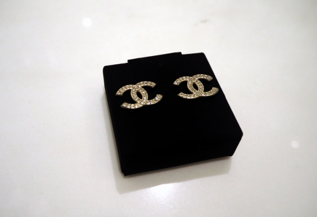 Actual Photo - Chanel Earrings