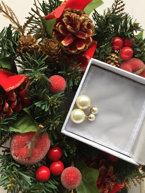 It will be extremely hard to get it wrong with a classic white Dior earring for present